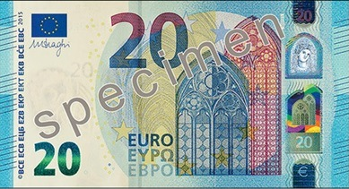 Nowy banknot 20 EURO